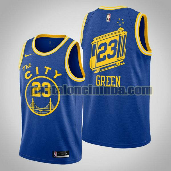 Canotta Uomo basket Draymond Green 23 Golden State Warriors Blu 2020 21