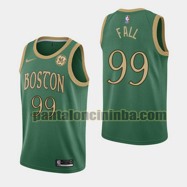 Canotta Uomo basket Macko Fall 99 Boston Celtics Verde City Edition 2020