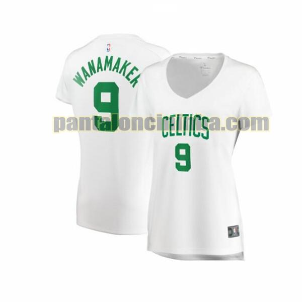 Maglia Donna basket Brad Wanamaker 9 Boston Celtics Bianco association edition