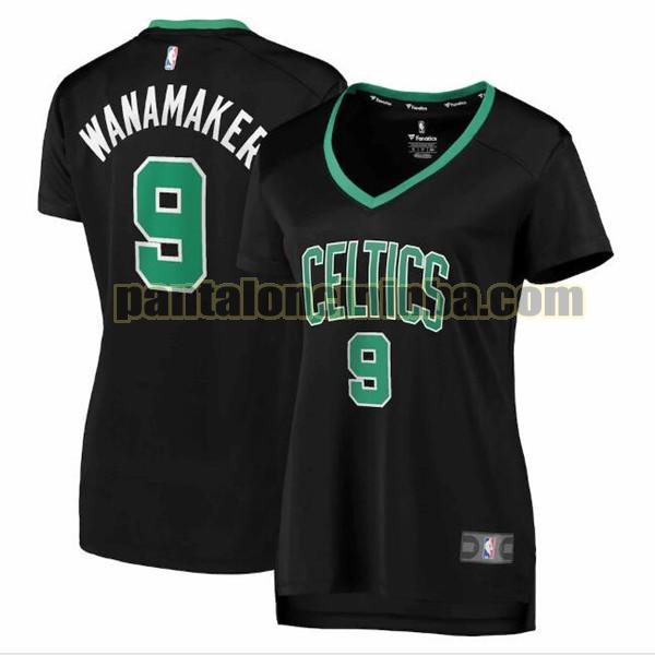 Maglia Donna basket Brad Wanamaker 9 Boston Celtics Nero statement edition
