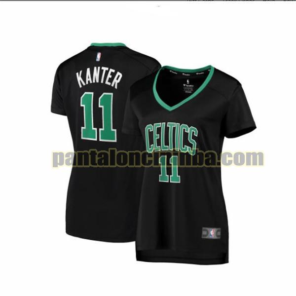 Maglia Donna basket Enes Kanter 11 Boston Celtics Nero statement edition