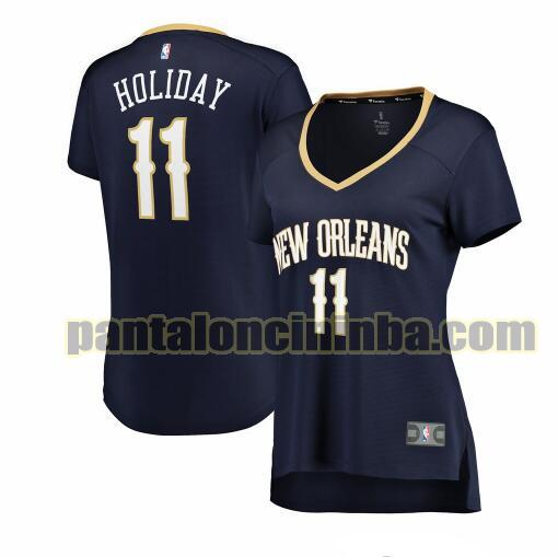 Maglia Donna basket Jrue Holiday 11 New Orleans Pelicans Armada icon edition