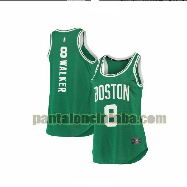 Maglia Donna basket Kemba Walker 8 Boston Celtics Verde 2019-2020 icon edition