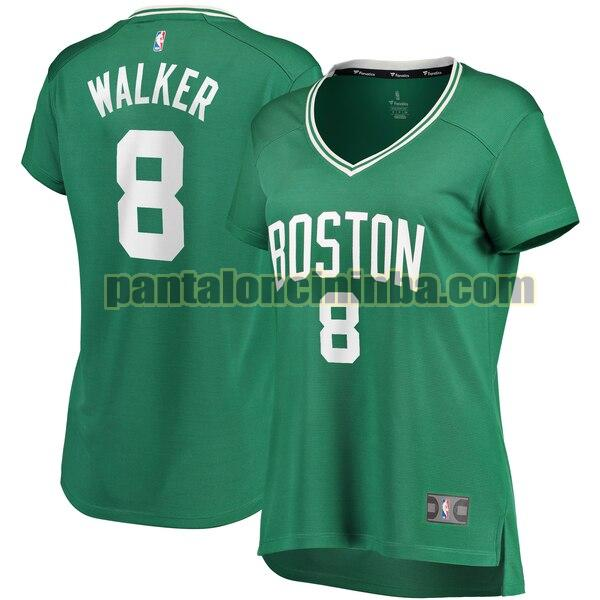 Maglia Donna basket Kemba Walker 8 Boston Celtics Verde icon edition