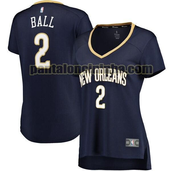 Maglia Donna basket Lonzo Ball 2 New Orleans Pelicans Armada icon edition