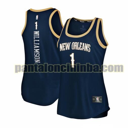 Maglia Donna basket Zion Williamson 1 New Orleans Pelicans Armada 2019-2020 icon edition