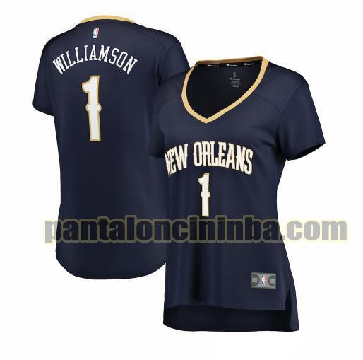 Maglia Donna basket Zion Williamson 1 New Orleans Pelicans Armada icon edition