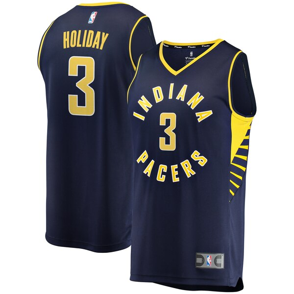 maglia basket Aaron Holiday 3 2019-2020 indiana pacers nero