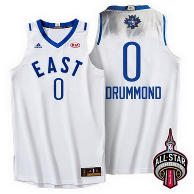 maglie basket andre drummond 0 nba all star 2016 bianca