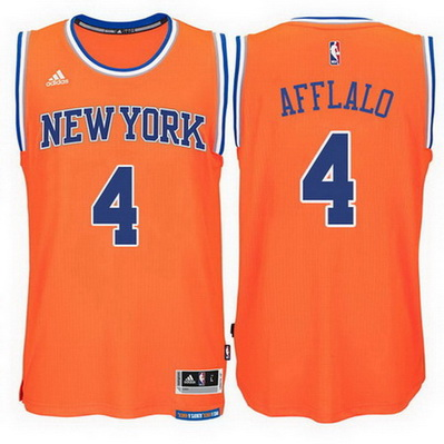 canotta nba arron afflalo 4 2015 new york knicks arancia