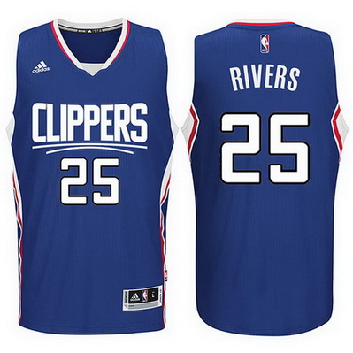 maglia austin rivers 25 2016 los angeles clippers blu