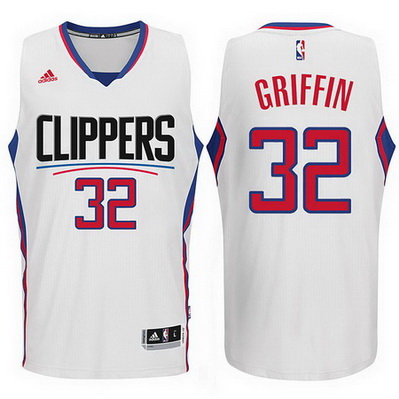 maglia nba blake griffin 32 2016 los angeles clippers bianca