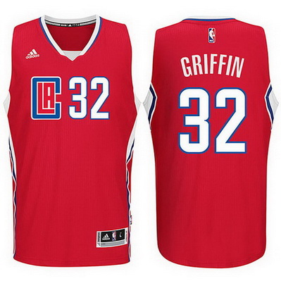 maglia blake griffin 32 2016 los angeles clippers rosso
