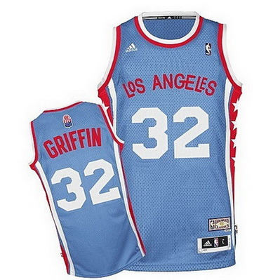 canotta nba blake griffin 32 los angeles clippers aba blu