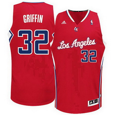 maglia nba blake griffin 32 los angeles clippers rev30 rosso
