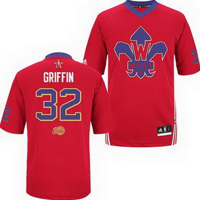 canotte basket blake griffin 32 nba all star 2014 rosso