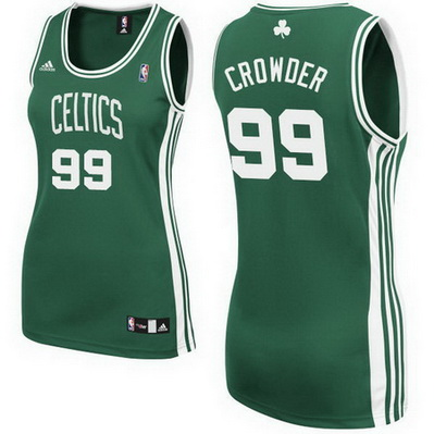canotta basket donna boston celtics jae crowder 99 verde