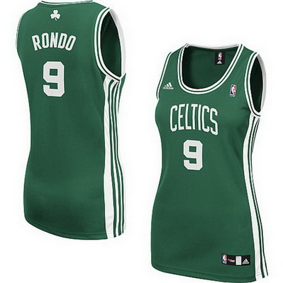 canotte basket donne boston celtics rajon rondo 9 verde