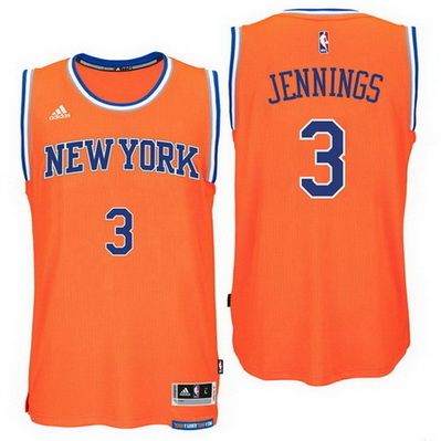 maglia nba brandon jennings 3 2016 new york knicks arancia