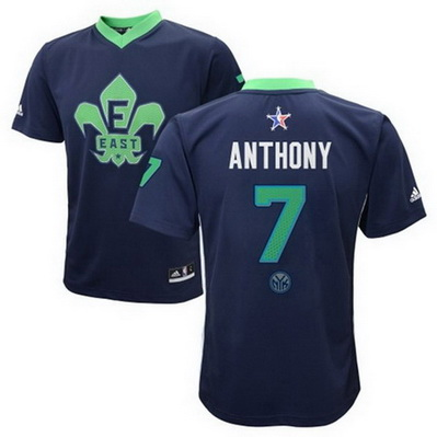canotte uomo carmelo anthony 7 nba all star 2014 blu