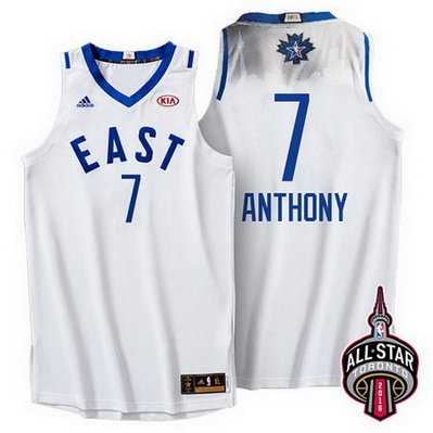maglia basket carmelo anthony 7 nba all star 2016 bianca
