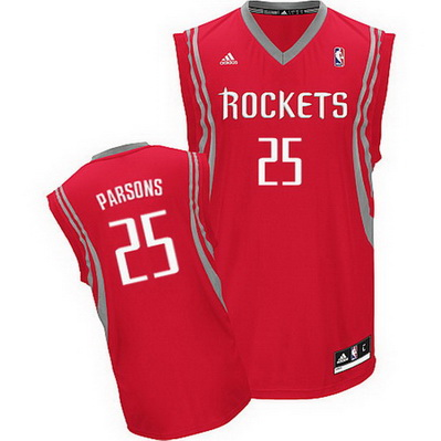 canotta nba chandler parsons 25 houston rockets rev30 rosso