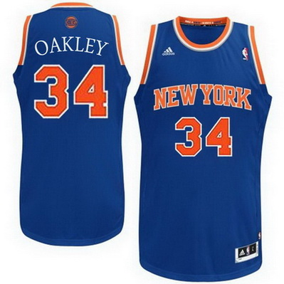 maglia basket charles oakley 34 new york knicks rev30 blu