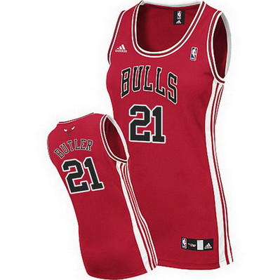 maglie basketa donne chicago bulls jimmy butler 21 rosso