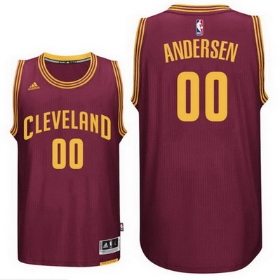 maglia nba chris andersen 00 2016 cleveland cavaliers rosso