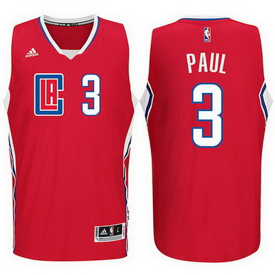 maglia basket chris paul 3 2016 los angeles clippers rosso
