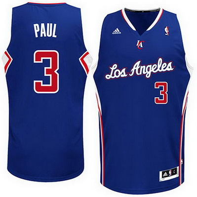 maglia nba chris paul 3 los angeles clippers rev30 blu
