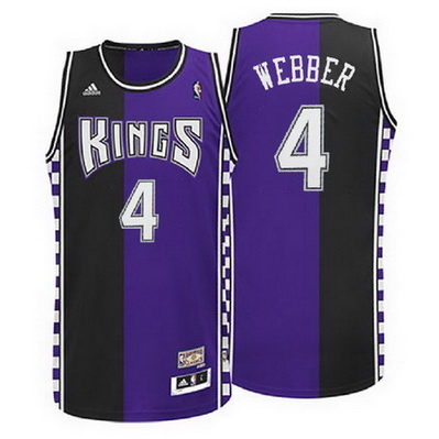 canotta nba chris webber 4 sacramento kings rev30 porpora