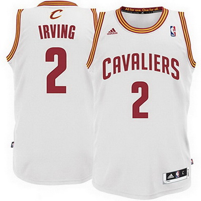 maglia cleveland cavaliers bambino kyrie irving 2 bianca