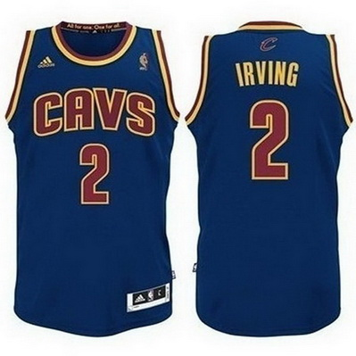 canotta cleveland cavaliers bambino kyrie irving 2 blu