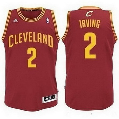 canotta basket cleveland cavaliers bambino kyrie irving 2 rosso
