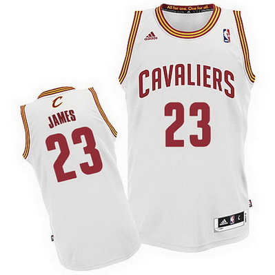 maglia cleveland cavaliers bambino lebron james 23 bianca