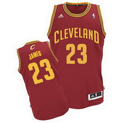 canotta cleveland cavaliers bambino lebron james 23 rosso