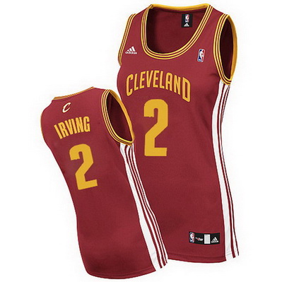 maglie nba donne cleveland cavaliers kyrie irving 2 rosso