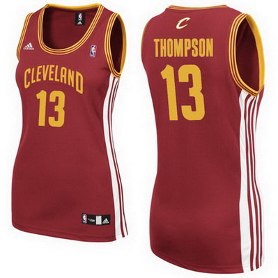 canotta nba donna cleveland cavaliers tristan thompson 13 rosso