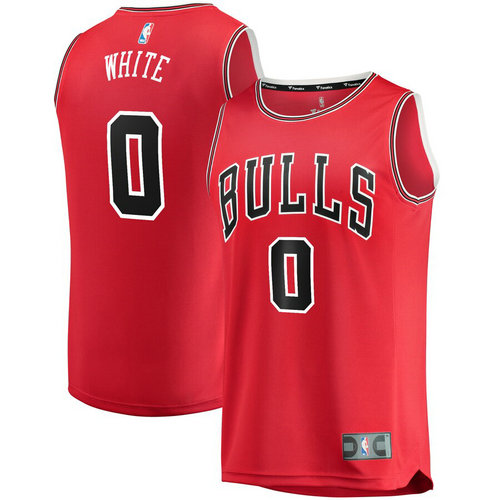 canotta basket Coby White 0 2019 chicago bulls rosso