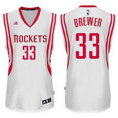 maglia nba corey brewer 33 houston rockets bianca