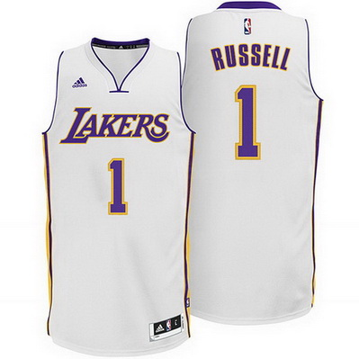 canotta basket d'angelo russell 1 2015 los angeles lakers bianca