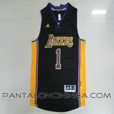 maglia nba d'angelo russell 1 2015 los angeles lakers nero