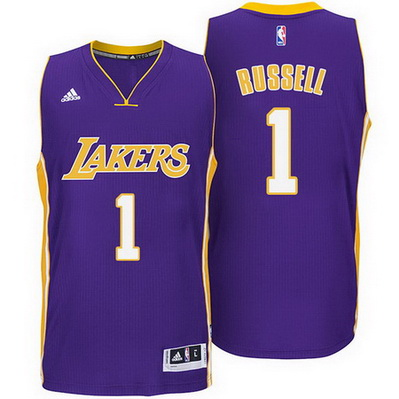 canotta d'angelo russell 1 2015 los angeles lakers porpora