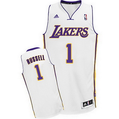 canotta nba d'angelo russell 1 los angeles lakers rev30 bianca