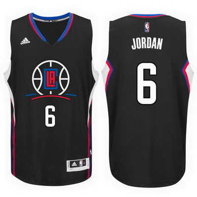 canotta deandre jordan 6 2016 los angeles clippers rev30 nero
