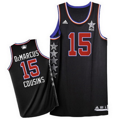 canotte basket demarcus cousins 15 nba all star 2015 nero
