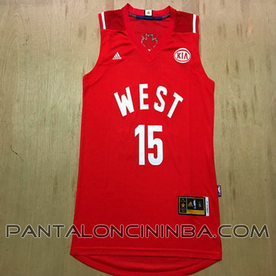 canotte basket demarcus cousins 15 nba all star 2016 rosso