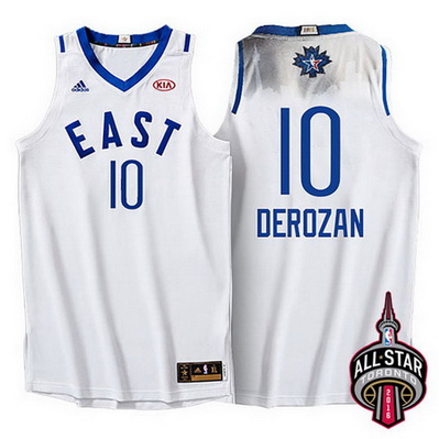 canotte uomo demar derozan 10 nba all star 2016 bianca