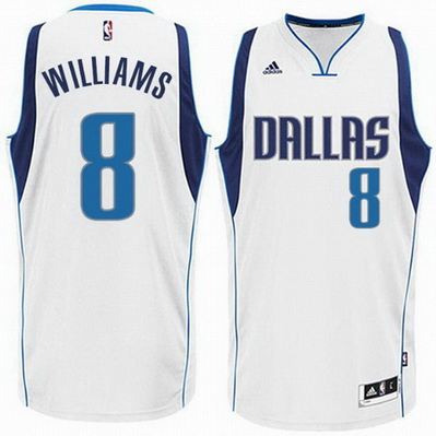 canotta basket deron williams 2015 dallas mavericks bianca
